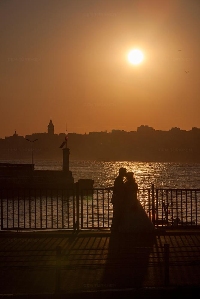 Istanbul Sunset wedding Photography