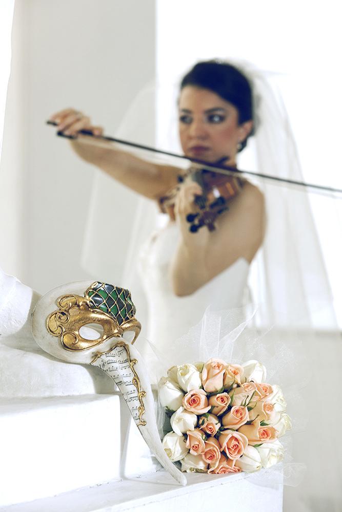 Istanbul Venice Mask wedding Photography