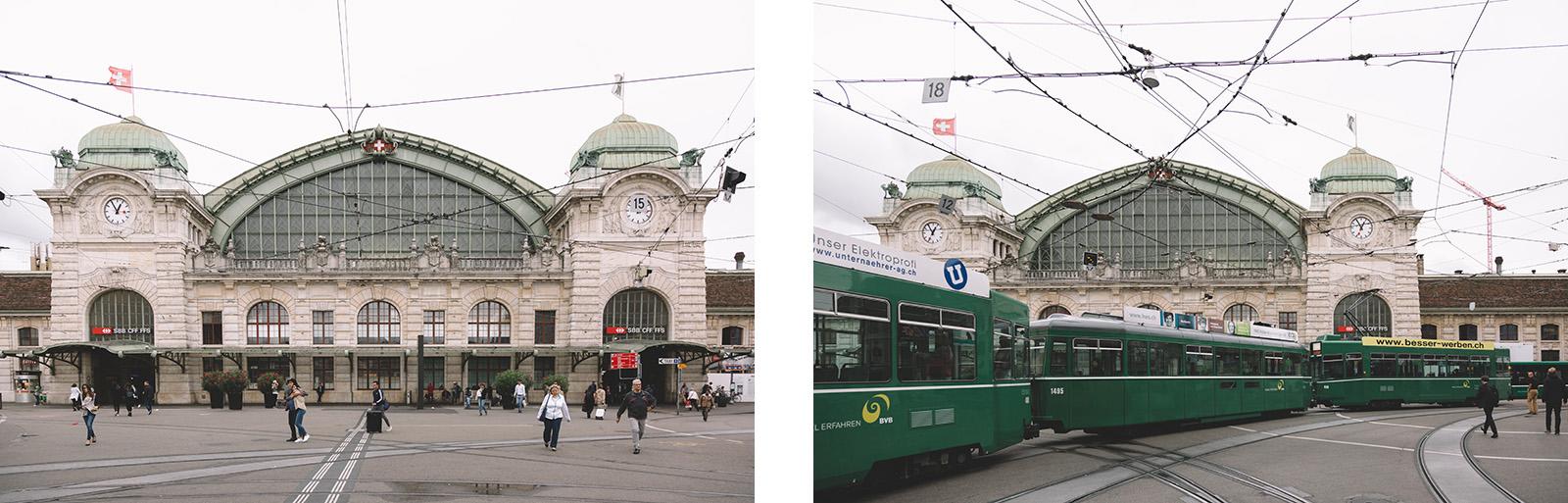 Basel Switzerland Railway Station