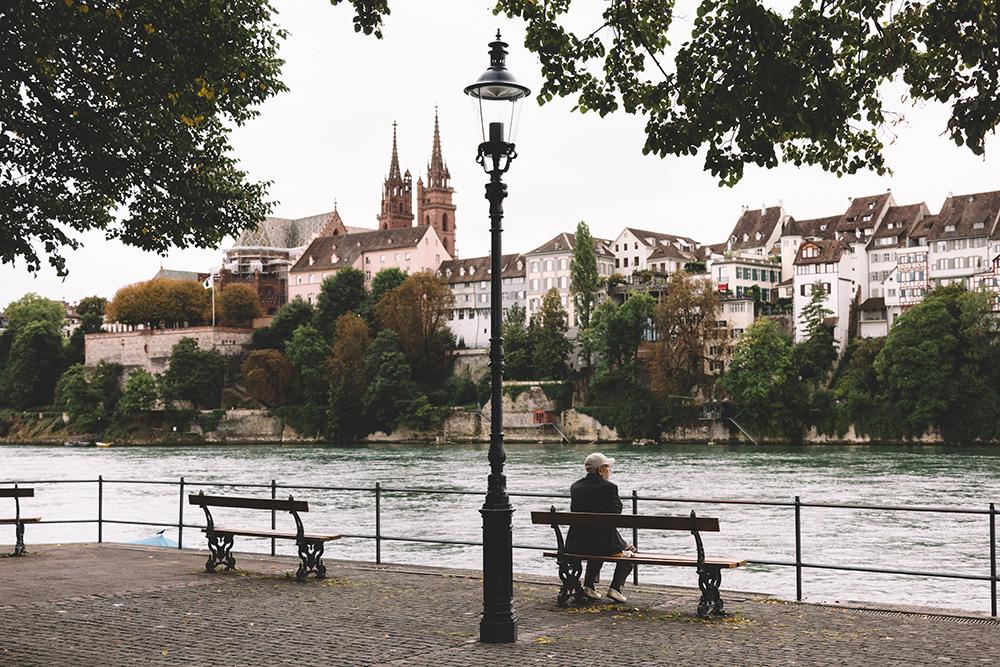Rhine River Basel Switzerland