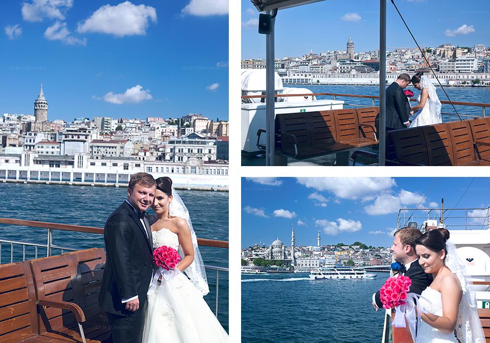 İstanbul Düğün Fotoğrafı Dilek ve Atakan dış mekan çekim 1