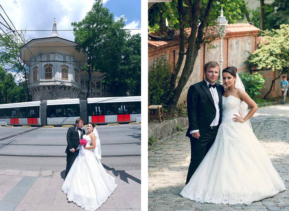 İstanbul Düğün Fotoğrafı Dilek ve Atakan dış mekan çekim 14