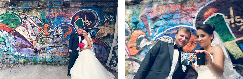 İstanbul Düğün Fotoğrafı Dilek ve Atakan dış mekan çekim 17