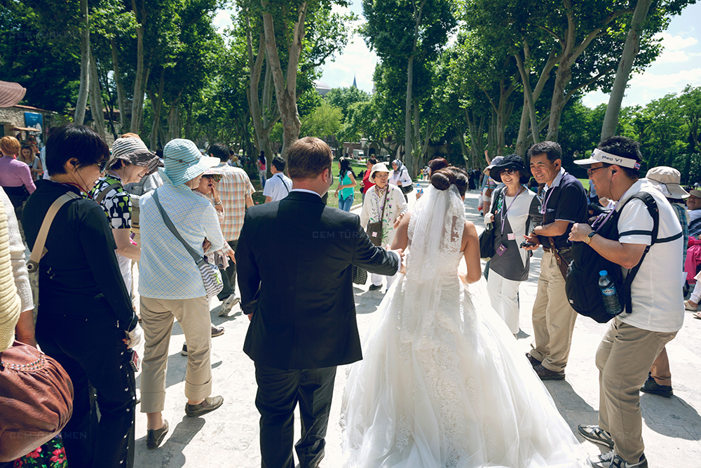 İstanbul Düğün Fotoğrafı Dilek ve Atakan dış mekan çekim 19