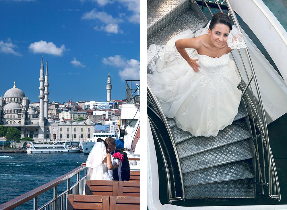 İstanbul Düğün Fotoğrafı Dilek ve Atakan dış mekan çekim 2