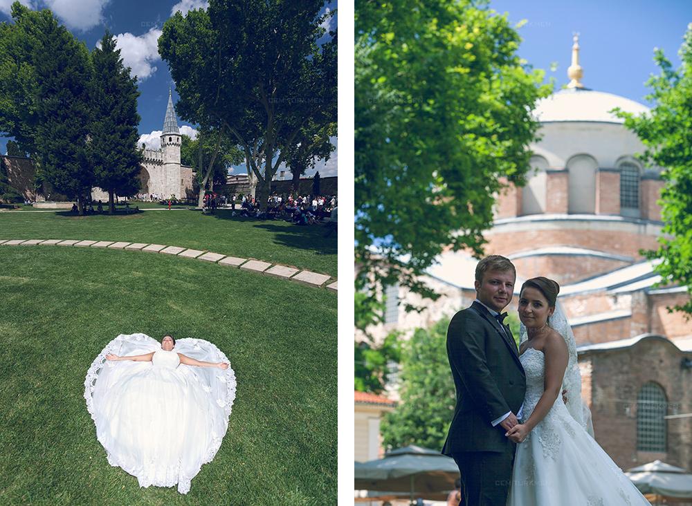 İstanbul Düğün Fotoğrafı Dilek ve Atakan dış mekan çekim 22