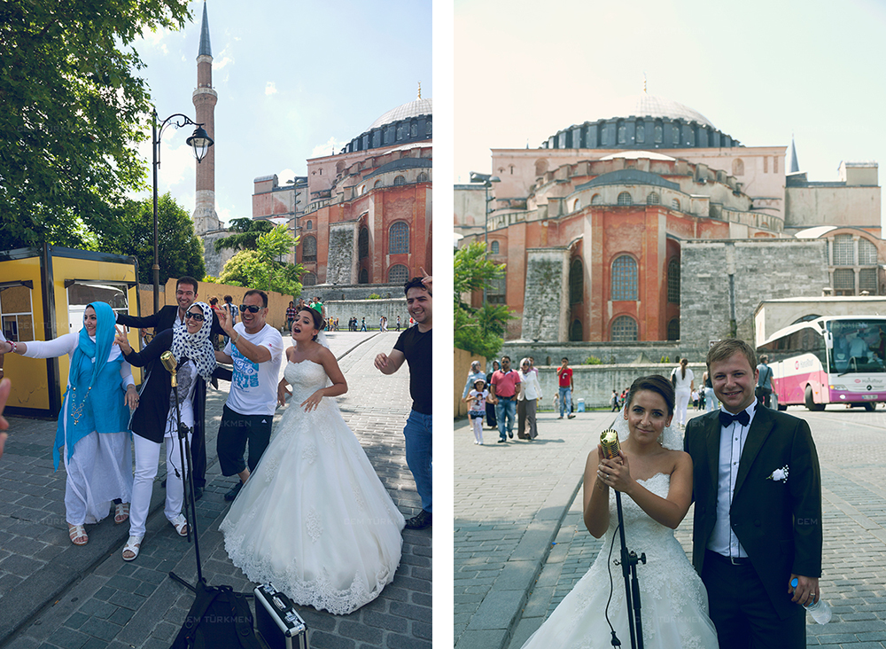 İstanbul Düğün Fotoğrafı Dilek ve Atakan dış mekan çekim 23