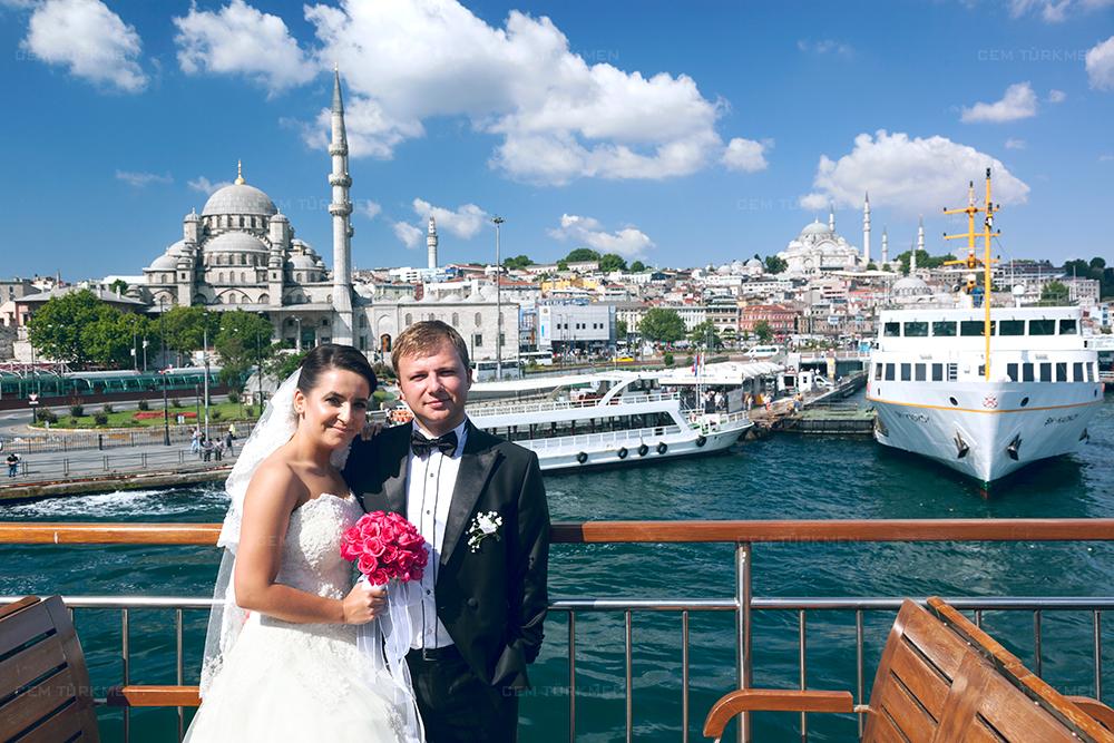 İstanbul Düğün Fotoğrafı Dilek ve Atakan dış mekan çekim 3
