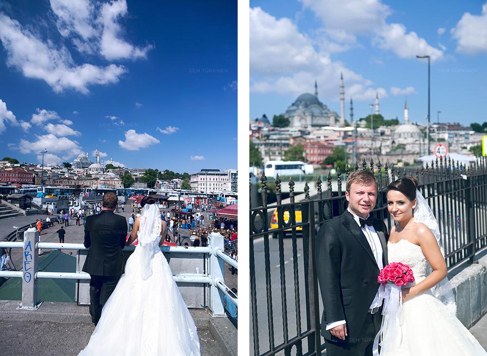 İstanbul Düğün Fotoğrafı Dilek ve Atakan dış mekan çekim 5