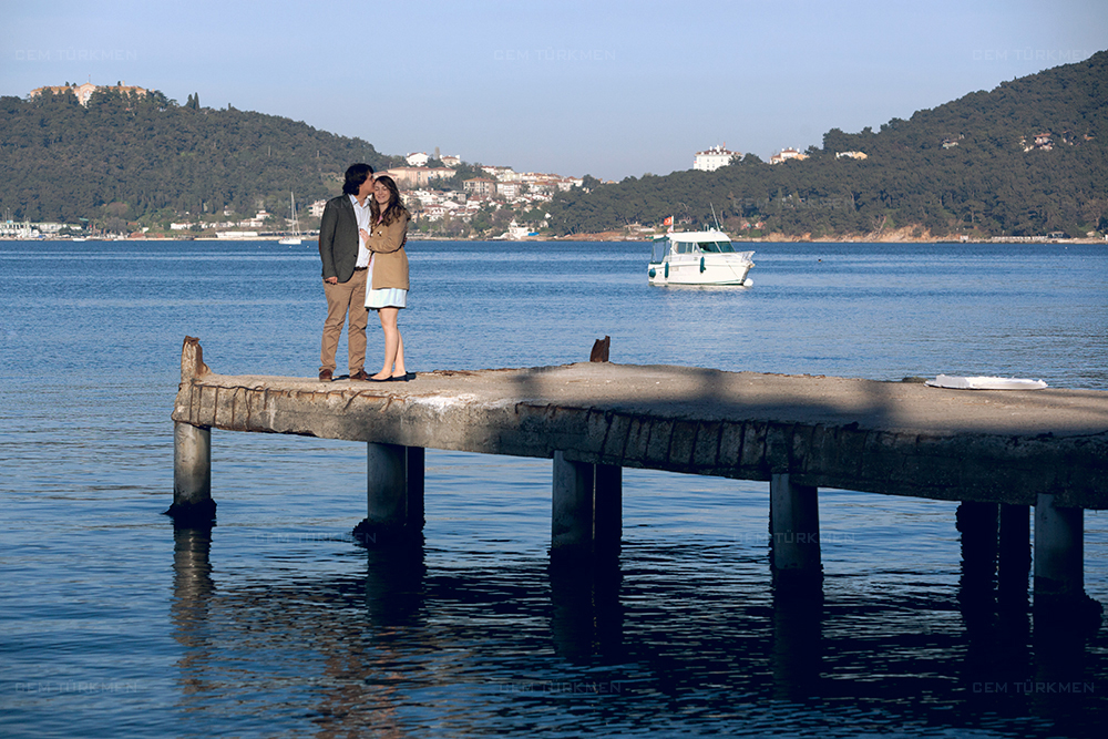 Istanbul Adalar Save The Date Dugun Fotografi