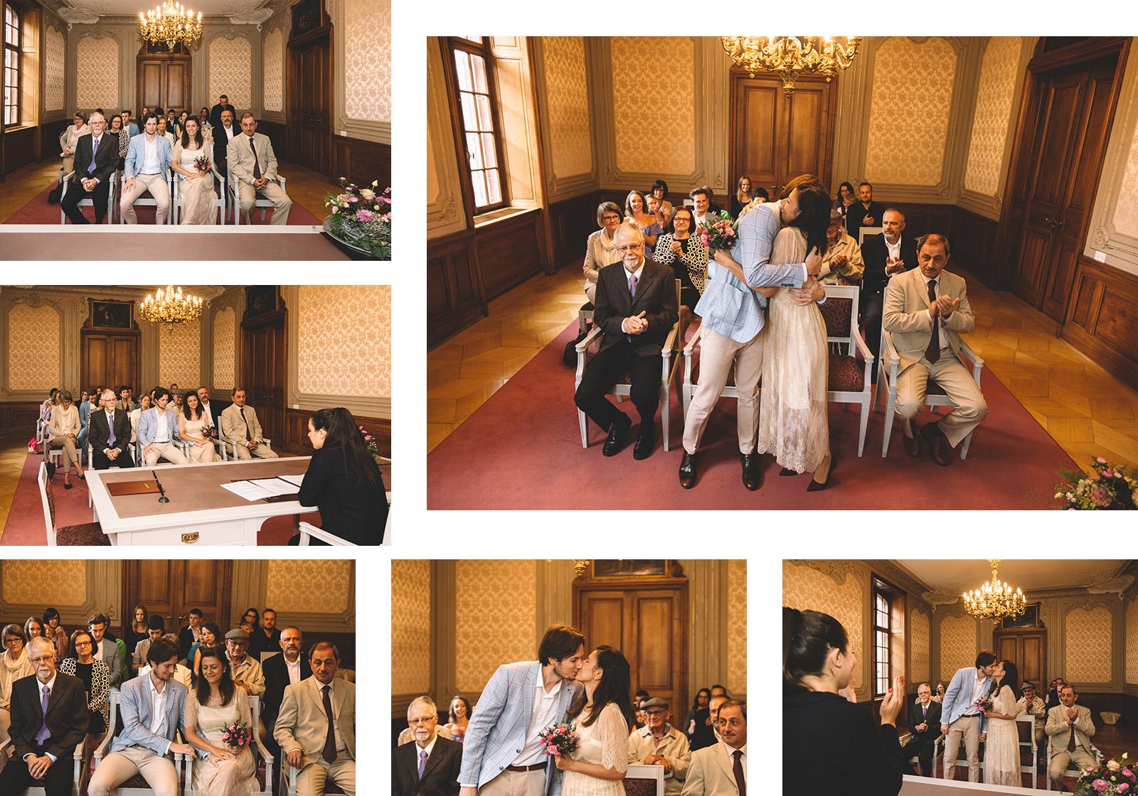 Basel İsviçre Nikah Düğün Fotoğrafı