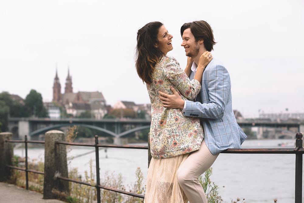 İsviçre Basel Düğün Fotoğrafçısı Dış Çekim